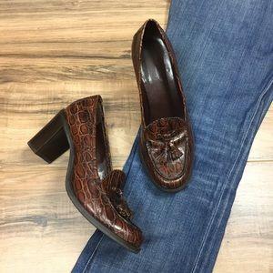 Franco Sarto Chunky Heel